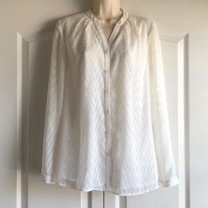 Coldwater Creek Textured Blouse